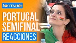 Los periodistas portugueses se emocionan con Salvador Sobral en la Semifinal - Eurovisión 2017