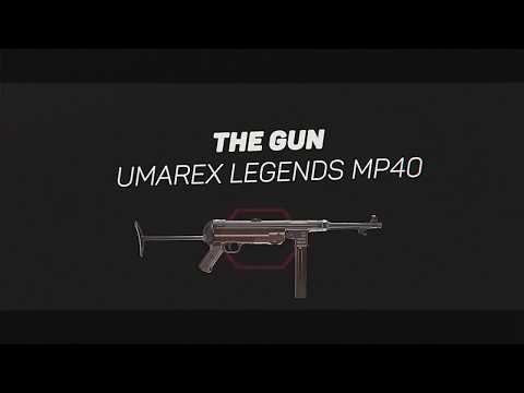 Video: Umarex Legends MP40 CO2 BB Submachine Gun   Pyramyd Air