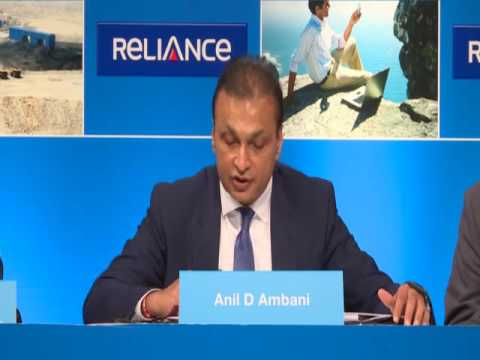 Mr. Anil Ambani, speaks at the Reliance Communications AGM, 27th September, 2016.
