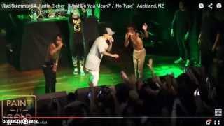 Justin Bieber feat. Rae Sremmurd - 'no type' (LIVE