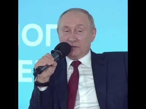 Школьник поправил Путина в вопросе по истории во время открытого урока