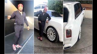 Yo Gotti Has A Reversible Driveway For His Rolls Royce Truck
