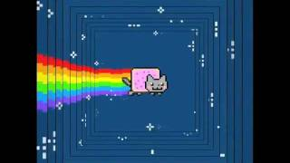 Nyan Cat with a layer added every ½ second