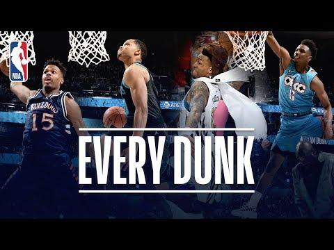 EVERY DUNK From the 2019 NBA Dunk Contest!   2019 NBA All-Star