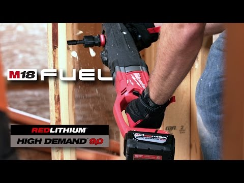 Milwaukee® M18™ System Productivity: M18 FUEL™ Super Hawg