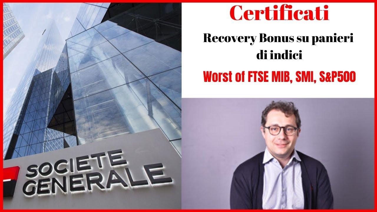 Con i Recovery di SG si puo' ottenere fino al 8% all'anno