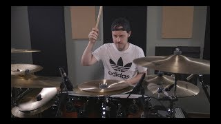 Matt Chancey - Marshmello & Bastille - Happier (Drum Cover)