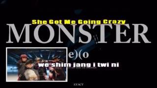 Monster - EXO (Karaoke/Instrumental)