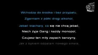 Muzyka #7 Gang Albanii - Blachary [Karaoke] [Podkład] [Lyrics]
