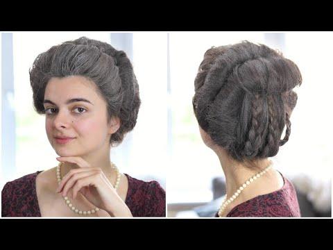 18th Century Hair Tutorial | Coiffure Banane