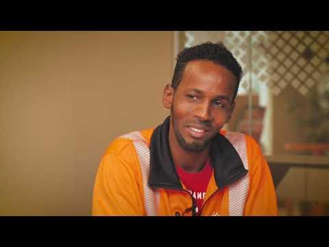 Hassan fick anställning genom Jobbspår avfall och återvinning