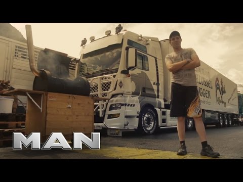 MAN at Interlaken Trucker & Country Festival 2016