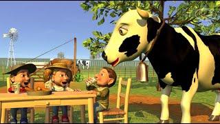 A Vaca Leiteira - A Fazenda do Zenão 1 | O Reino das Crianças