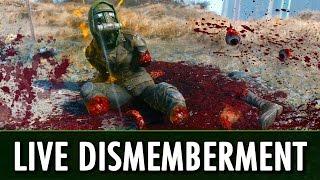 Fallout 4 Mod: Live Dismemberment - Battle Mutiliation