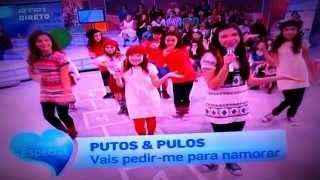 """Putos e Pulos - Portugal no Coração Dez/2012 """"Vais pedir-me pra namorar"""" (Onda Choc)"""