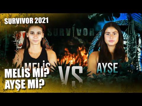 MELİS-AYŞE YARIŞI | Survivor 2021