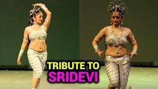 Mansi Naik's Tribute To Sridevi | Dance Performance on Naino Mein Sapna Song width=