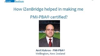 Participant - Amit Kakroo : Certified Professional in Business Analysis - PMI-PBA®