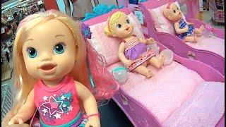 Baby Alive berçário berços boneca Comilona Cabelos Fashion Hora Chá Xixi Bons Sonhos Toys Kids