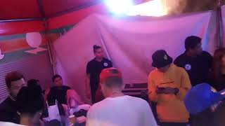 Ex battalion and rbreezy ing tigitigan terakan keng dalan angeles city