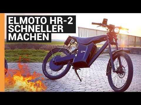 Elmoto hr2 schneller machen, mit zusätzlichen Controller Umbau auf 5 kW