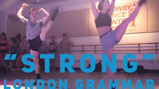 Strong by London Grammar Choreography by Derek Mitchell at Broadway Dance Center