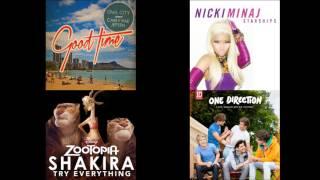 Good Stars Try Young - Owl City, Carly Rae Jepsen & Nicki Minaj & Shakira & One Direction