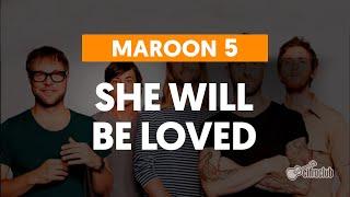 Videoaula She Will Be Loved (aula de violão completa)