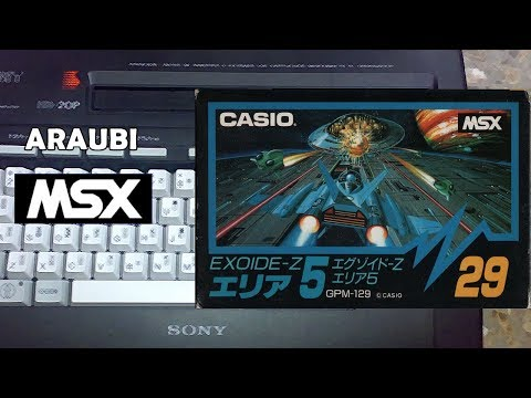 Exoide-Z Area 5 (Casio, 1986) MSX [206] Walkthrough