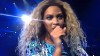 Beyonce shocked by her fan singing