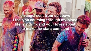 Coldplay-Hymn For The Weekend (Lyrics Video)
