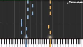 Tinie Tempah feat. Eric Turner - Written In The Stars Piano Tutorial  (Synthesia + Sheets + MIDI)