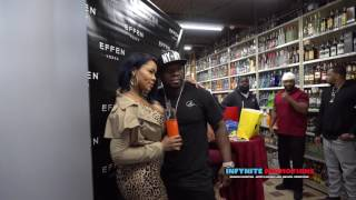 50 Cent and Deelishis At Orchard Market