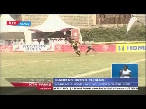 KABRAS SIGNS FIJIANS: Kabras Sugar Rugby team bolsters their side