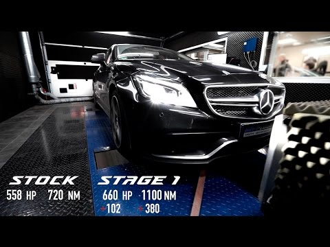 Mercedes CLS 63 AMG Stage 1 By BR-Performance