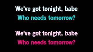 We've Got Tonight Karaoke - In style of Kenny Rogers & Sheena Easton