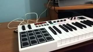 M Audio Code 25 Test