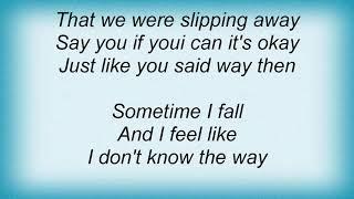 Seal - Just Like You Said Lyrics