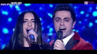 X-Factor4 Armenia-Gala Show 8-Erik & Inna-Arno Babajanyan/Твои следы-09.04.2017