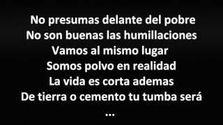 (Letra) Los Consejos- Los Alegres Del Barranco -2015