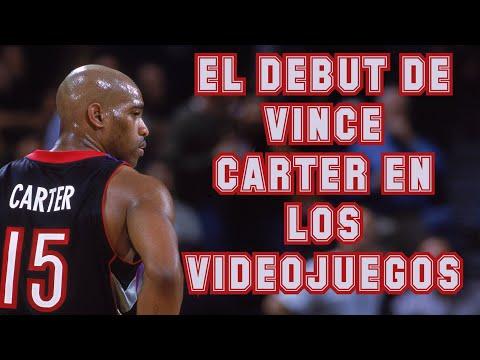 El debut de Vince Carter en los videojuegos - NBA Live 99