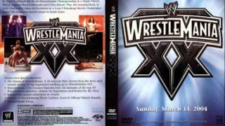 WWE Wrestlemania 20(XX) Theme Song Full+HD