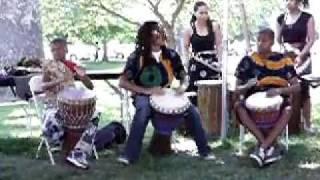 "From The 2011 St. Louis African Arts Festival: ""Children Teaching Children Creative Dance & Drum"""