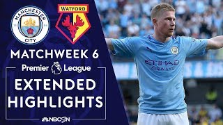 Manchester City v. Watford | PREMIER LEAGUE HIGHLIGHTS | 9/21/19 | NBC Sports