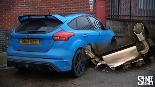 My Focus RS Now Has a Mountune Exhaust System!