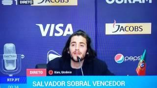 """Salvador Sobral solta um """"foda-se"""" no Festival Eurovisão da Canção!"""