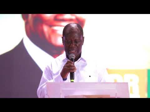 Discours du Président d'honneur, Alassane OUATTARA, au 4e Congrès Extraordinaire du RDR