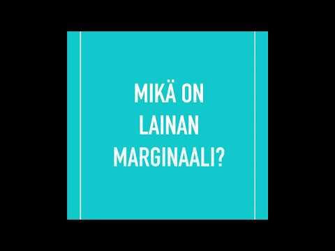 Mikä on lainan marginaali | Säästöpankki Sparbanken