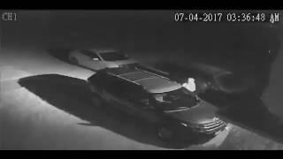 Surveillance Video: Vehicle break-in in Killeen (Part 1)   KCEN-TV