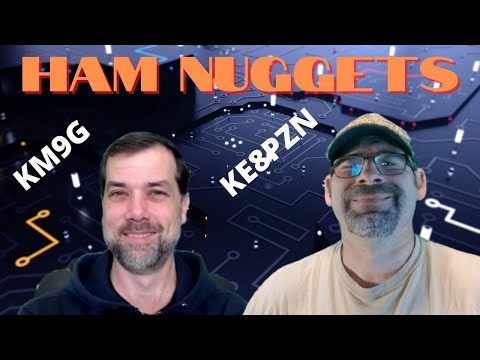 Ham Nuggets Live! w/James Mon, KE8PZN, Ham Radio Adventure Guy